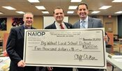 NAIOP Donation to Big walnut Local Schools